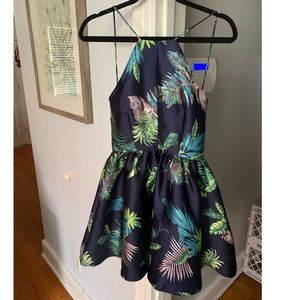 Floral cocktail style dress